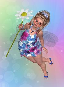 Pummelfee Blume by Conny Dambach