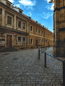 Alley at the Prague Castle by Tomas Gregor