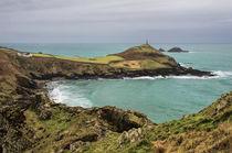 Cape Cornwall from Kenidjack Castle von Pete Hemington
