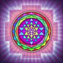 Strahlendes Sri Yantra Mandala I by Dirk Czarnota