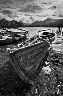 Derwentwater Rowing Boat by Ian Lewis