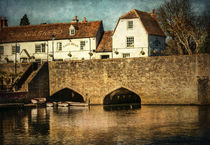 The Bridge At Abingdon von Ian Lewis