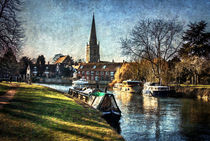 Abingdon on Thames by Ian Lewis