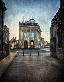 The Town Hall At Abingdon by Ian Lewis