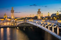 Sunset at Pont Alexandre by Michael Abid