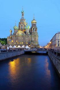 Blutskirche St. Petersburg Russland von Patrick Lohmüller