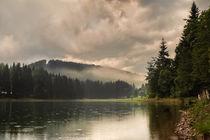 'Wolken und Nebel über dem See' by micha-trillhaase-fotografie
