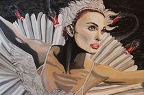 Black Swan  Natalie Portman by Erich Handlos