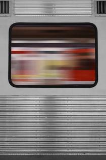 Im Zugfenster by Bastian  Kienitz