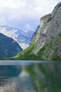 Am Obersee in Bayern von Bernhard Kaiser