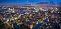 Hamburg Cityscape bei Nacht von Klaus Tetzner
