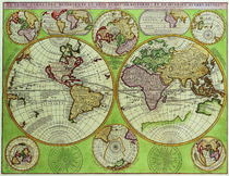 vintage world map by dreamyfaces