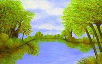 Georgia Landscape von eloiseart