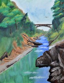 Quechee Gorge,Vermont von Warren Thompson