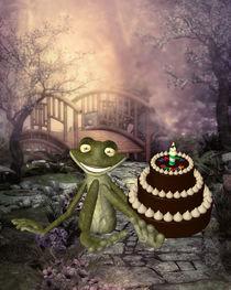 Frosch feiert Geburtstag von Conny Dambach