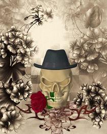 Skull - Rose von Conny Dambach
