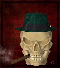 Skull - Smoke von Conny Dambach