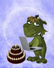 Drache feiert Geburtstag von Conny Dambach