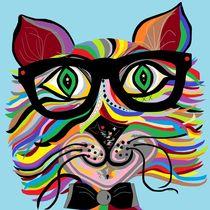 VERY Cool Cat von eloiseart