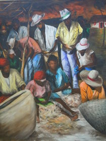 'Marché de poisson' von Roger Dartiguenave