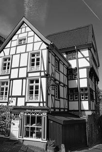 Fachwerk in der Altstadt in Mülheim von Peter Hebgen