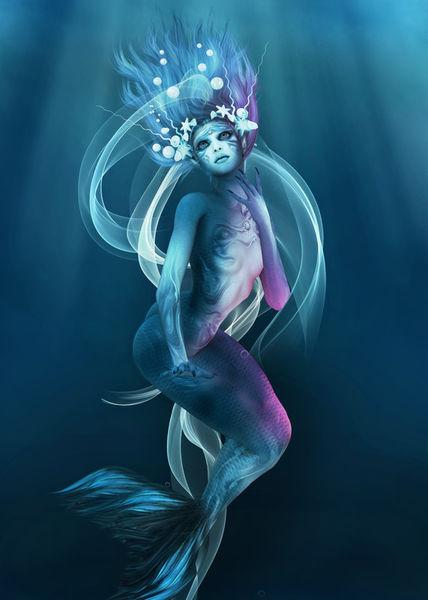 Mermaid-bride
