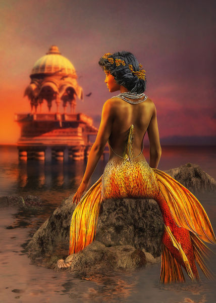 Mermaid-sun