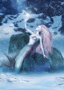 Meerjungfrau im Winter by Andrea Tiettje