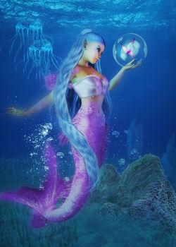 Mermaid-butterfly-klein