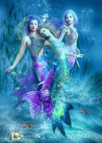 Meerjungfrauen Trio by Andrea Tiettje