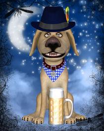 Hund aus Bayern von Conny Dambach