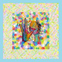 ASL Mother for a Baby Boy Nursery von eloiseart
