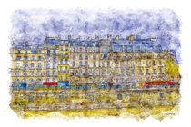 Rainy Paris by cinema4design