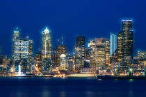 Seattle Skyline von Jim Corwin