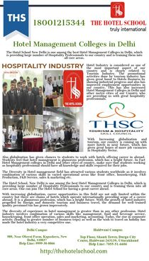 Hotel Management Colleges in Delhi by thehotel school