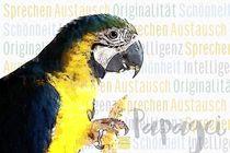 Papagei Ara - Intelligente Schönheit von Astrid Ryzek