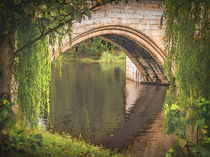 Warkworth Bridge by Colin Metcalf