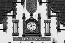 Fassade der Alten Post in Mülheim von Peter Hebgen