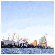 Hamburger Hafen mit Elphie von Mareike Engel