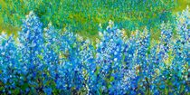 Bluebonnet Panorama by eloiseart