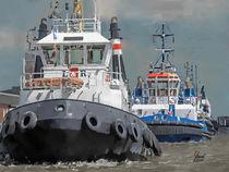 Hamburg Hafenschlepper von Lothar R. Fanslau