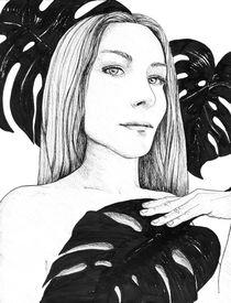 Monstera von Lidija Kämpf