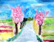 Kirschblüte 2 von Gerhard Stolpa