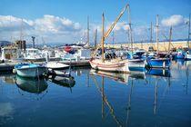 Im Hafen von Saint Tropez von Bruno Schmidiger