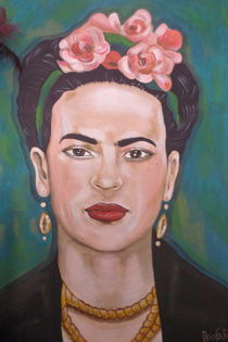 Frida Kahlo Variation by roosalina