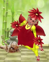 Pummelblumenfee von Conny Dambach