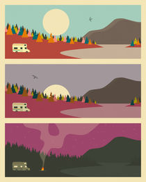 CAMPING TRIP 1 by Jazzberry  Blue