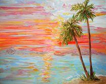 California Coast Sunset von eloiseart