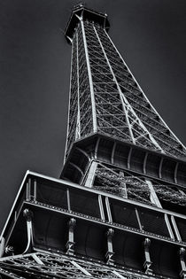 Eiffel Tower in Paris von Silvia Eder