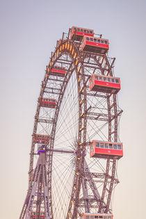 Ferris wheel - Riesenrad Prater - Wien von Silvia Eder